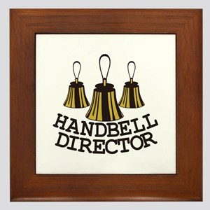 Handbell Director Framed Tile
