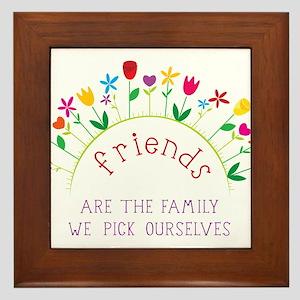 Friends Framed Tile