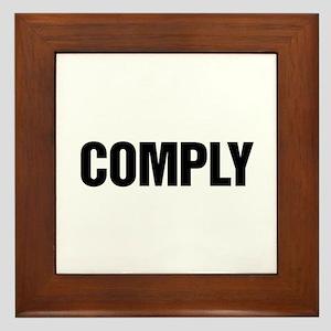 COMPLY Framed Tile