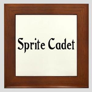 Sprite Cadet Framed Tile