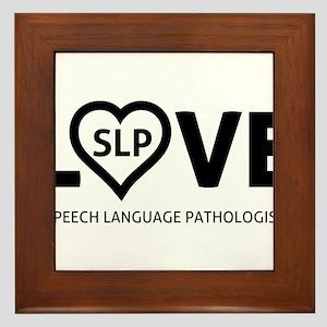 LOVE SLP Framed Tile