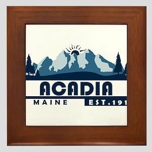 Acadia - Maine Framed Tile