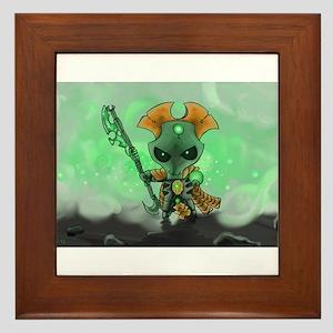 Robot Overlord Framed Tile