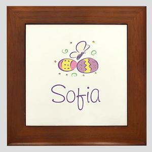 Easter Eggs - Sofia Framed Tile