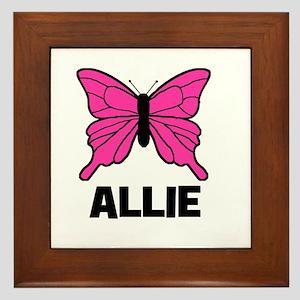 Butterfly - Allie Framed Tile
