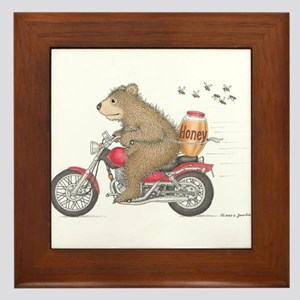 Honey on the Run Framed Tile