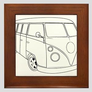 70s Van Framed Tile