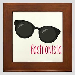 Fashionista Framed Tile