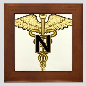 U.S. Army Nurse Framed Tile