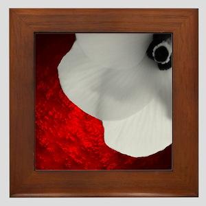 Love and Death Framed Tile