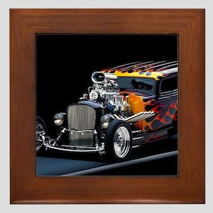 Hot Rod Framed Tile
