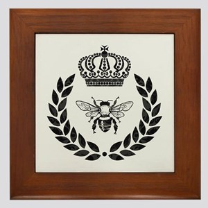 THE FRENCH BEE Framed Tile
