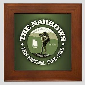 The Narrows Framed Tile