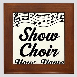 Personalized Show Choir Gift Framed Tile