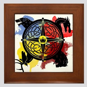 Game of Thrones Sigil Framed Tile