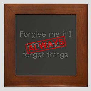 Forgive me... Framed Tile
