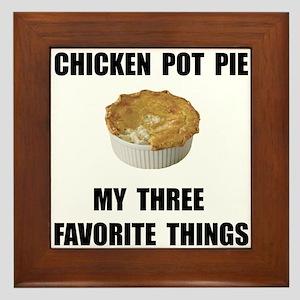 Chicken Pot Pie Framed Tile