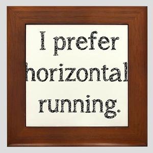 Horizontal Running Framed Tile