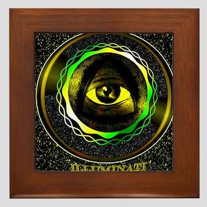 illuminati Framed Tile
