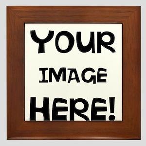 Customizable Image Framed Tile