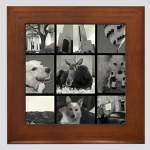 Your Photos Here - Photo Block Framed Tile