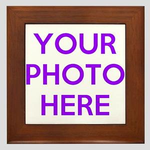 Customize photos Framed Tile