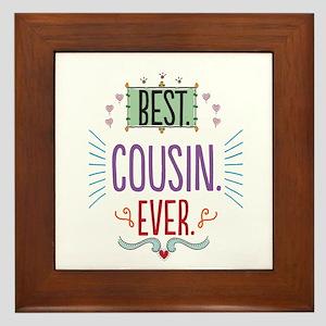 Cousin Framed Tile