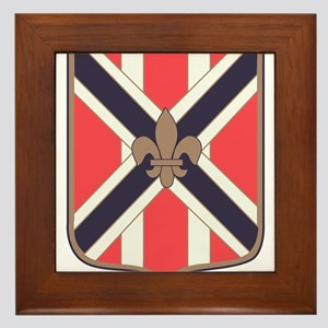 111th Army Field Artillery Battalion.p Framed Tile