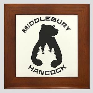 Middlebury College Snow Bowl - Hanco Framed Tile