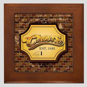 cheers Framed Tile