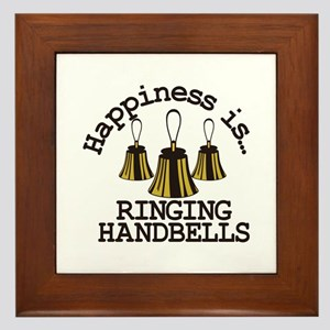 Happiness is Ringing Framed Tile