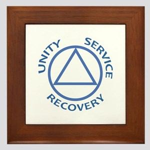 UNITY SERVICE RECOVERY Framed Tile