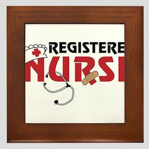 Registered Nurse Framed Tile