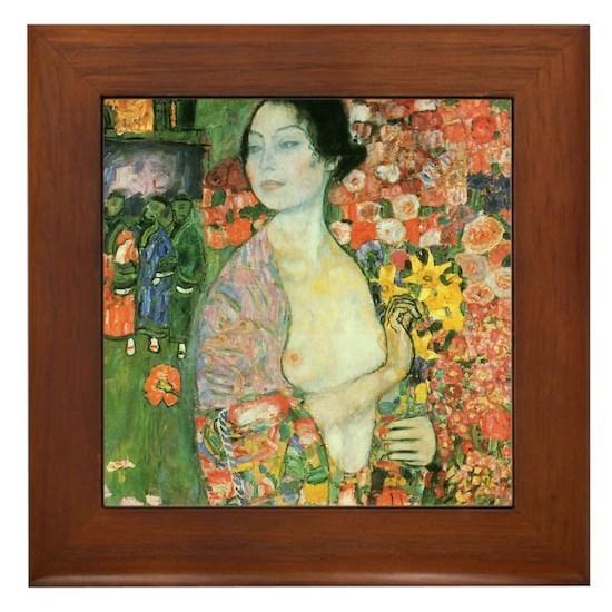 Gustav Klimt Dancer Framed Painting for sale