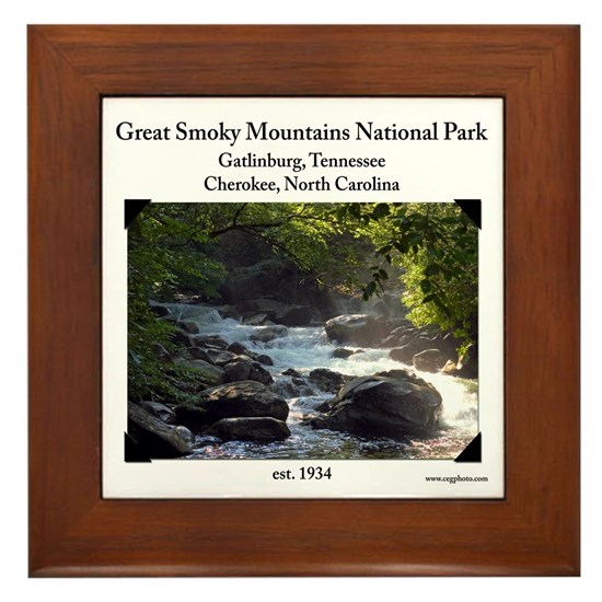 White Shirt - Smoky Mountain Stream Shirt