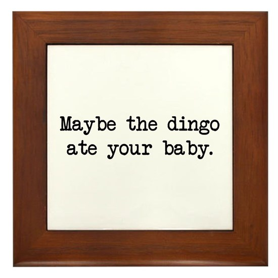 dingo ate your baby