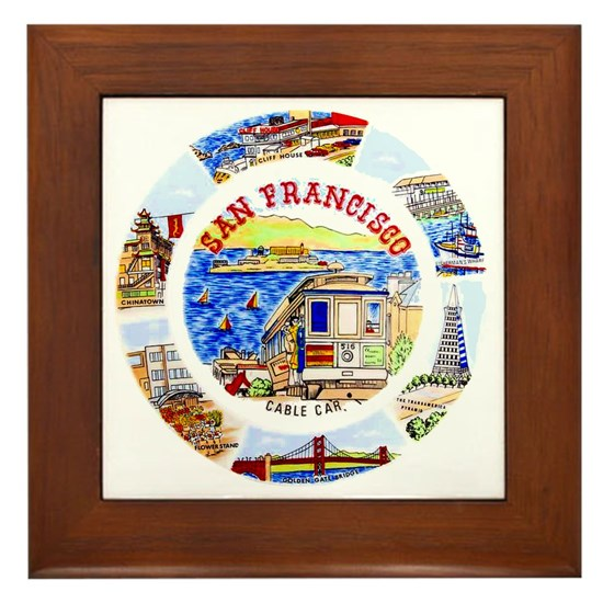 Vintage San Francisco Souvenir Graphics