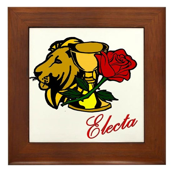 Electa Lion Cup Rose Design