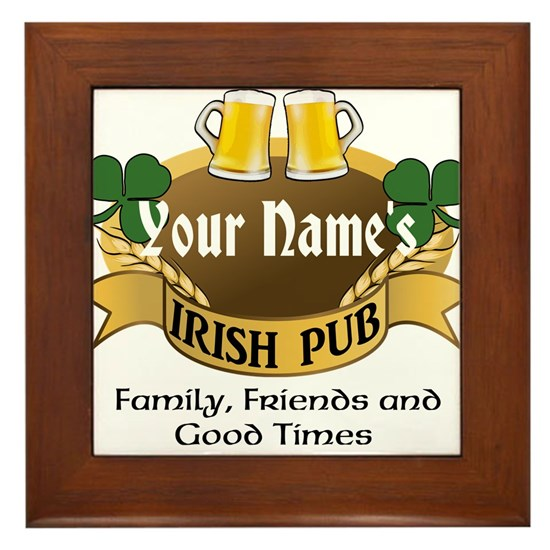 Custom Personalized Name Irish Pub