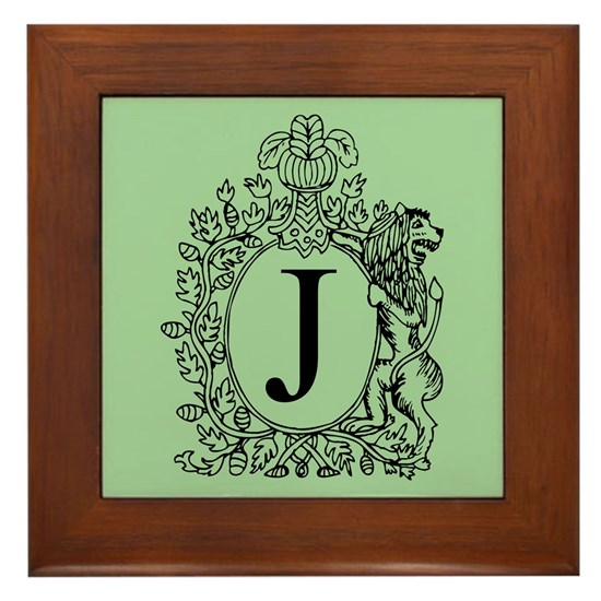 Green Personalized Monogram