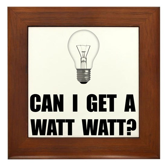 Watt Watt Light Bulb