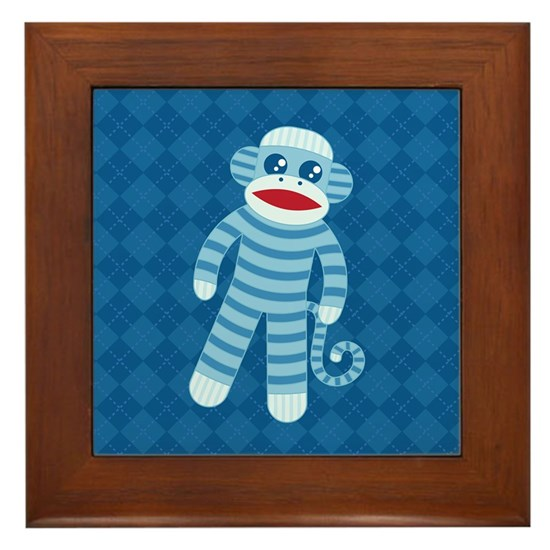 Blue Sock Monkey