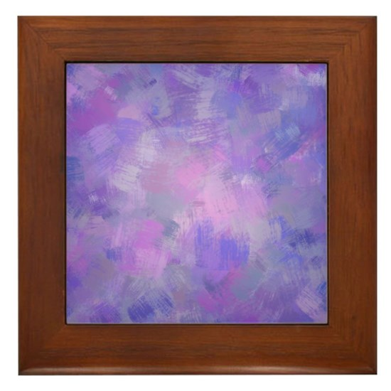 Pink, purple and lavender canvas