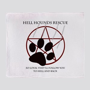 Hell Hounds Rescue wt Arctic Fleece Throw Blanket