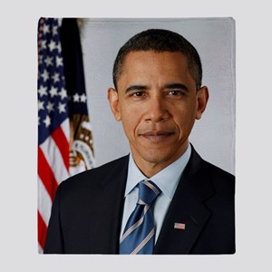 President Obama Arctic Fleece Throw Blanket
