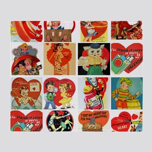 vintage valentines day cards feb Arctic Fleece Thr