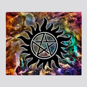 Supernatural Cosmos Arctic Fleece Throw Blanket