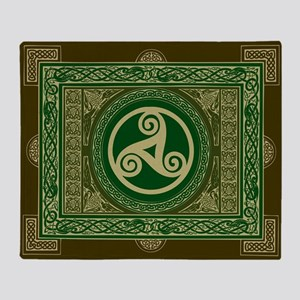 Celtic Blanket Arctic Fleece Throw Blanket