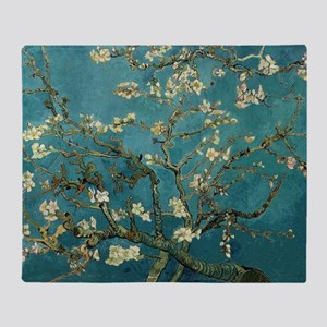 Van Gogh Almond Branches In Bloom Arctic Fleece Th