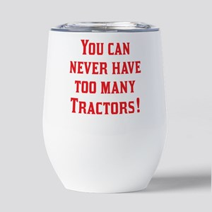 TractorsRed Insulated Wine Tumbler